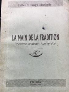 La main de la tradition - Julien Kilanga Musinde