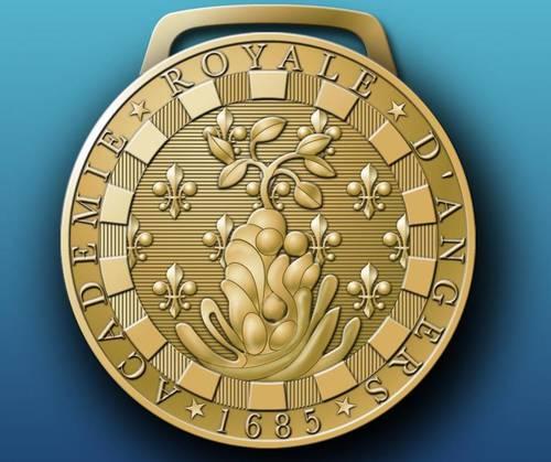 Medaille Académie Royale d'Angers - Julien Kilanga Musinde