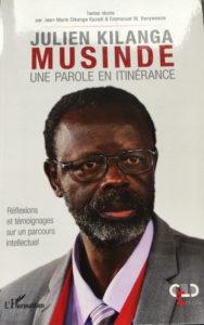 Julien Kilanga Musinde Une parole en itinérance